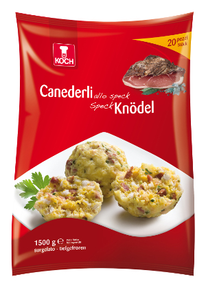 CANEDERLI ALLO SPECK GR.75X60PZ KOCH
